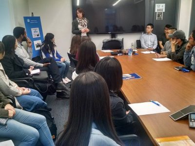 Nancy J Selph, Director and COO - Innovation & Data Governance at Deutsche Bank AG, spoke with MA Statistics students about how to succeed at their careers.