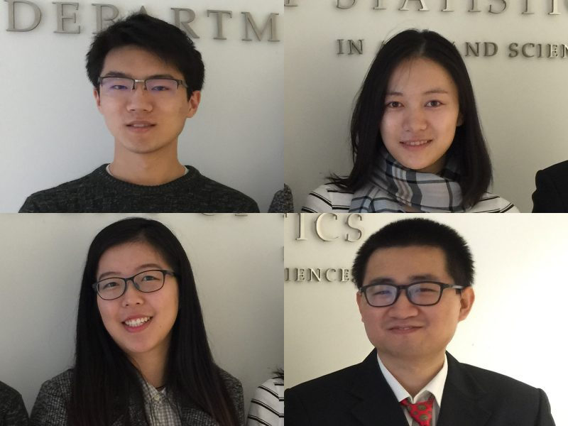 Special recognition for MA Statistics students in a Data Hackathon team competition