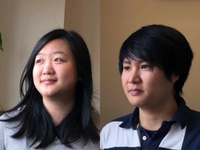Two M.A. in Statistics students win the Davis Award for excellent academic achievement.