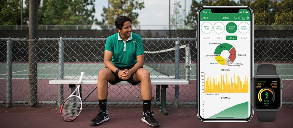 Swing, an AI-based Tennis App, Allows Players to Track Their Stats and Improve Their Games