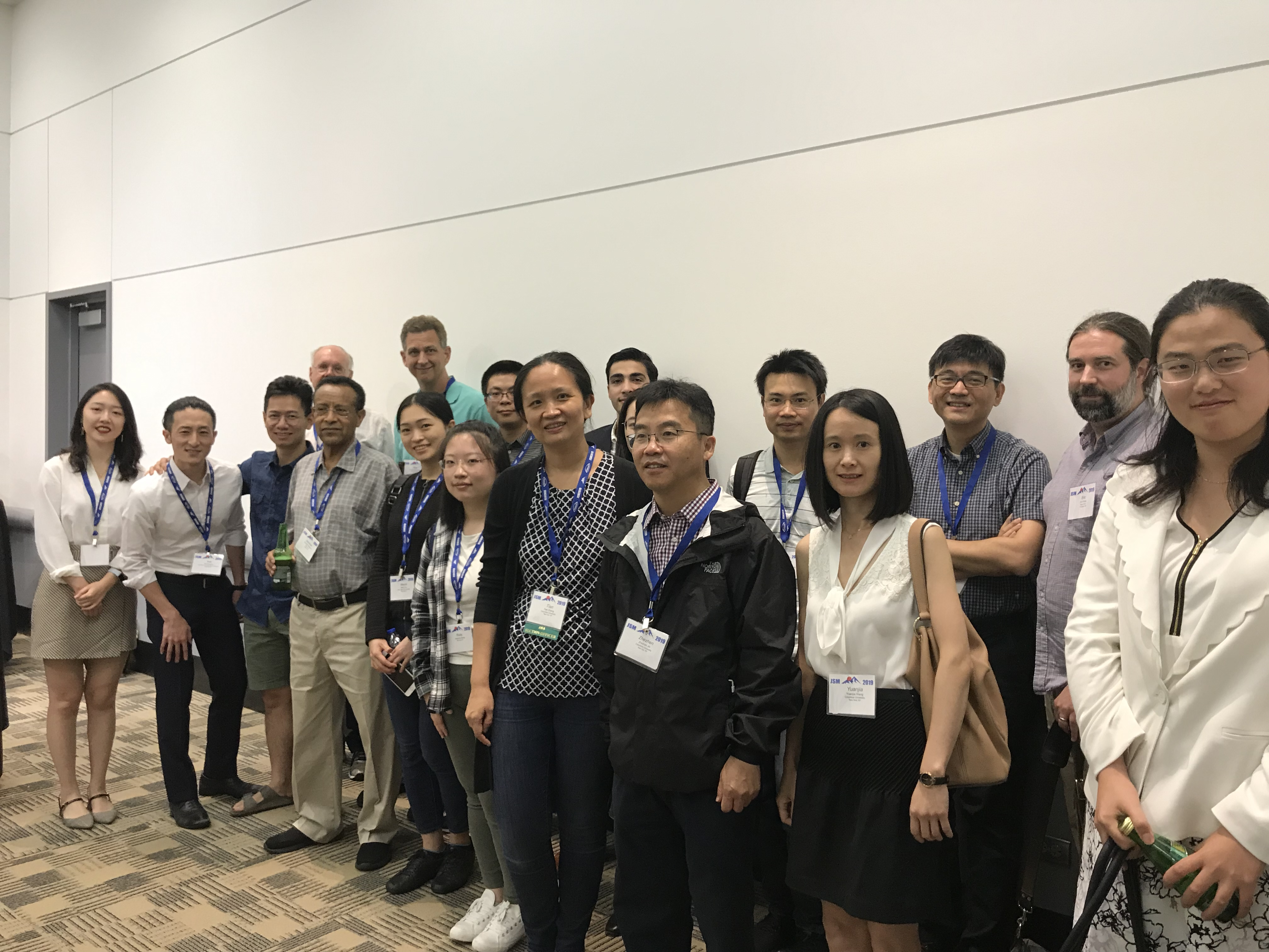 Joint JSM 2019 reception of Columbia Statistics and Biostatistics brought together faculty, students and alums in Denver, Colorado.