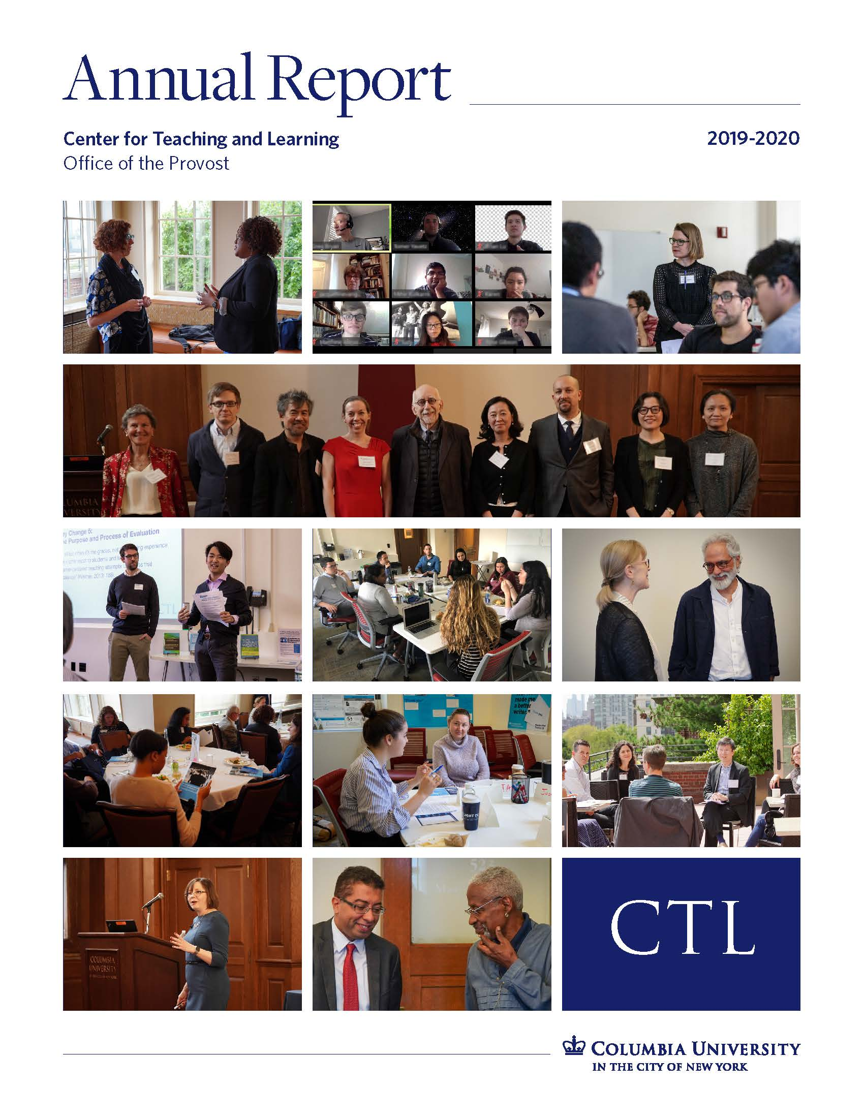 Ph.D. Student, Miguel Ángel Garrido, is spotlighted in the annual report of Center for Teaching and Learning