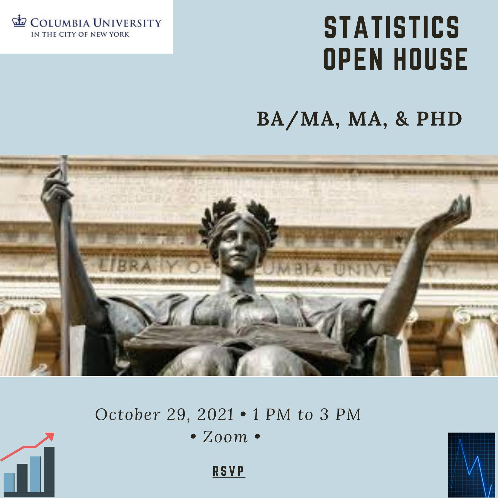Statistics Open House – Friday, Oct. 29